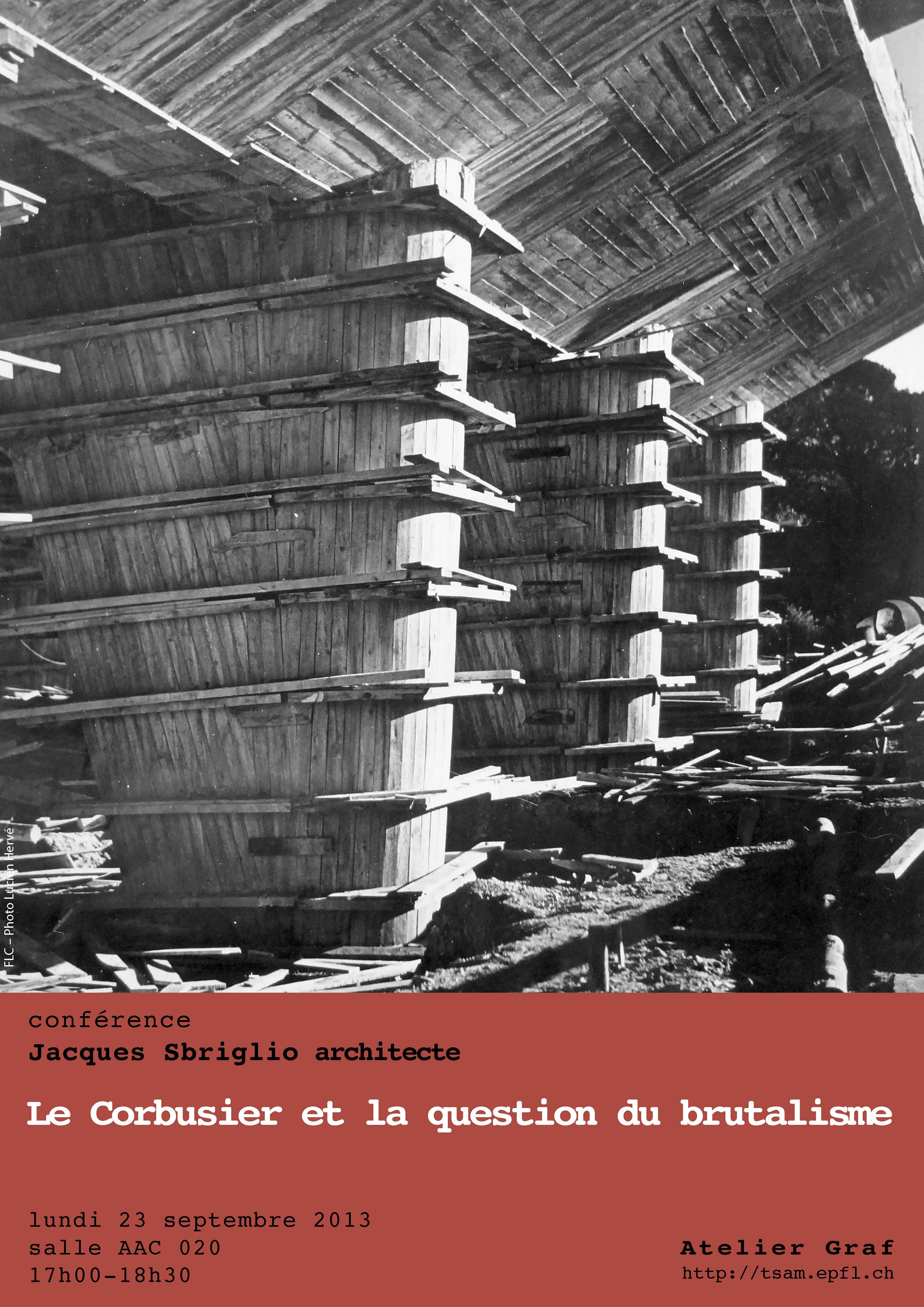 Organization Calendar Free : Le corbusier et la question du brutalisme